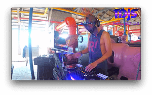 DJ Transcend on The DJ Sessions Silent Disco Sundays