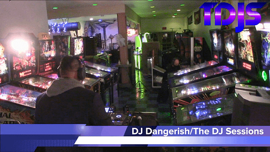 DJ Dangerish Pt. 2 on The DJ Sessions presents the Attack the Block at the Waterland Arcade 1/26/21