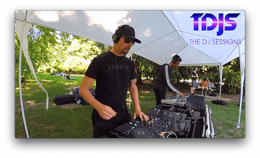Grym at Parké Diem 2019 Silent Disco in Seattle presented by The DJ Sessions 6/29/19