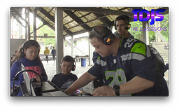 """DJ JWK and Royce on The DJ Sessions """"Silent Disco Saturday's"""" at Gas Works Park in Seattle, WA 5/25/19"""