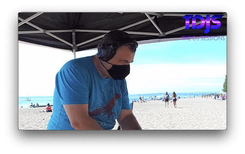 DJ Tgro on The DJ Sessions presents the Safe Silent Disco Sessions in Seattle 8/30/20