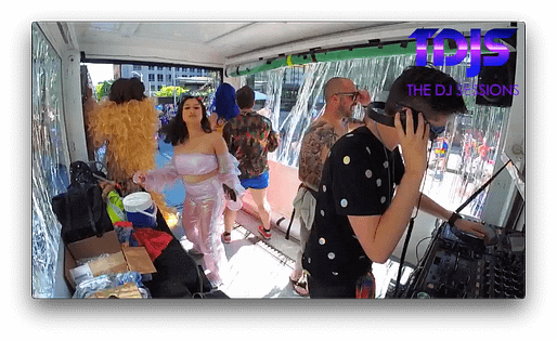 Stayin' Alive at  Pride Parade 2019 in Seattle presented by The DJ Sessions 6/30/19