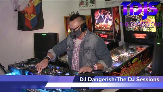 "DJ Dangerish on The DJ Sessions presents ""Attack the Block"" at the Waterland Arcade 12/29/20"