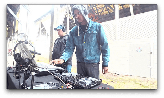 """Royce on The DJ Sessions """"Silent Disco Sunday's"""" at Gas Works Park in Seattle, WA 4/07/19"""