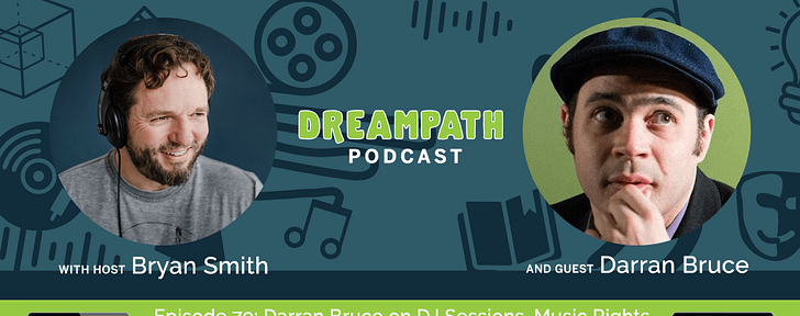 Dreampath Podcast Episode #79: Darran Bruce on DJ Sessions, Music Rights, Jellicle Cats, and the Importance of Human Connection
