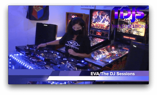 "EVA on The DJ Sessions and Waterland Arcade present ""Attack the Block"" 12/15/20"