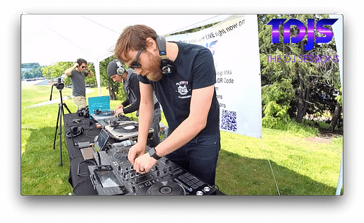 """Nightwatch on The DJ Sessions """"Silent Disco Sunday's"""" at Gas Works Park in Seattle, WA 5/12/19"""