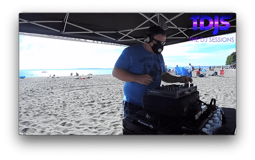 DJ Tgro on The DJ Sessions presents the Safe Silent Disco Sessions in Seattle 8/23/20
