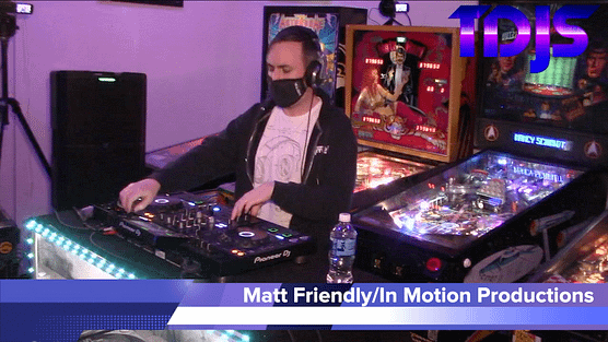 Matt Friendly on The DJ Sessions presents Attack the Block at the Waterland Arcade 2/02/21