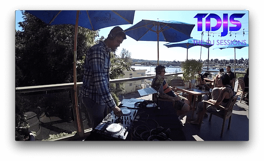 """Royce part 1 on The DJ Sessions presents the """"Rooftop Sessions"""" at Eastlake Bar and Grill 7/20/19"""