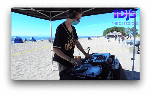 """DA33L€ Pt. 1 on The DJ Sessions presents the """"Silent Disco"""" Sessions in Seattle 9/06/20"""