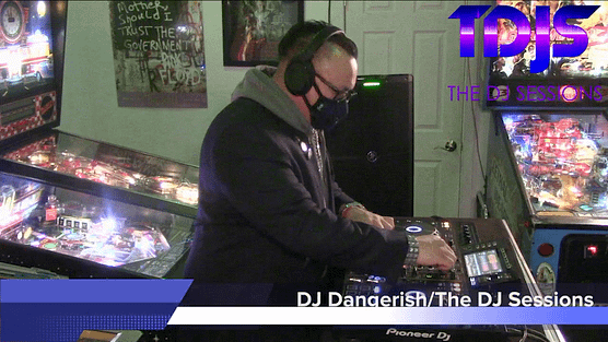 DJ Dangerish Pt. 1 on The DJ Sessions presents the Attack the Block at the Waterland Arcade 1/26/21